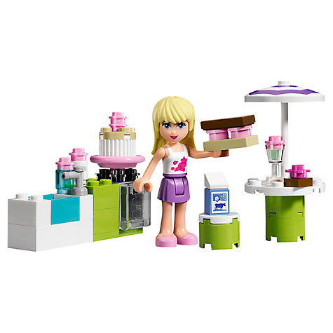Buy LEGO Friends Stephanie's Bakery Set Online at johnlewis.com