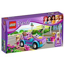 Buy Lego Friends Stephanie's Convertible Set Online at johnlewis.com