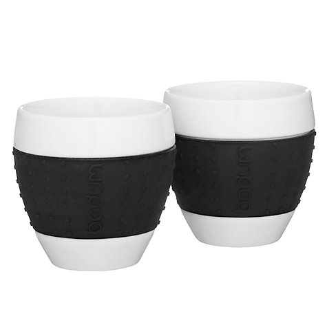 Buy Bodum Pavina Espresso Cups, Set of 2, 0.08L Online at johnlewis.com