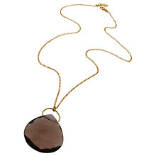 Buy Amrapali for Dinny Hall Large Briolette Square Pendant Necklace Online at johnlewis.com