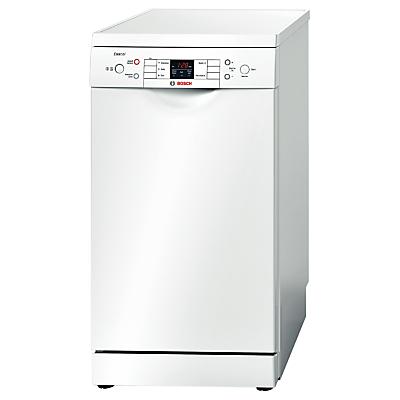 Bosch Exxcel SPS53E12GB Slimline Dishwasher White
