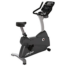 Buy Life Fitness Lifecycle C3 Upright Exercise Bike, Track Console Online at johnlewis.com