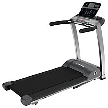 Buy Life Fitness F3 Folding Treadmill, Track Console Online at johnlewis.com