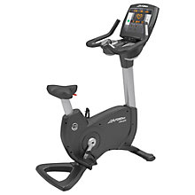 Buy Life Fitness Platinum Club Series Upright Exercise Bike, Achieve Console Online at johnlewis.com
