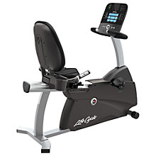 Buy Life Fitness Lifecycle R3 Recumbent Exercise Bike, Track Console Online at johnlewis.com