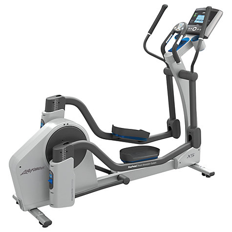 Buy Life Fitness Total-Body X5 Elliptical Cross-Trainer, Go Console Online at johnlewis.com