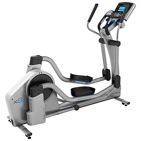 Buy Life Fitness X8 Elliptical Trainer, Go Console Online at johnlewis.com