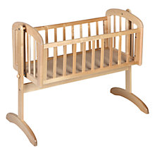 Buy John Lewis Anna Swinging Crib, Natural Online at johnlewis.com