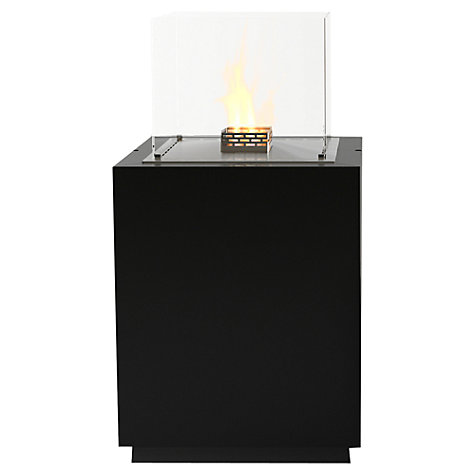 Buy Decoflame 17120 Monaco Square Tower Bioethanol Fire, Black Online at johnlewis.com