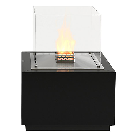 Buy Decoflame 16120 Monaco Square Lounge Bioethanol Fire, Black Online at johnlewis.com