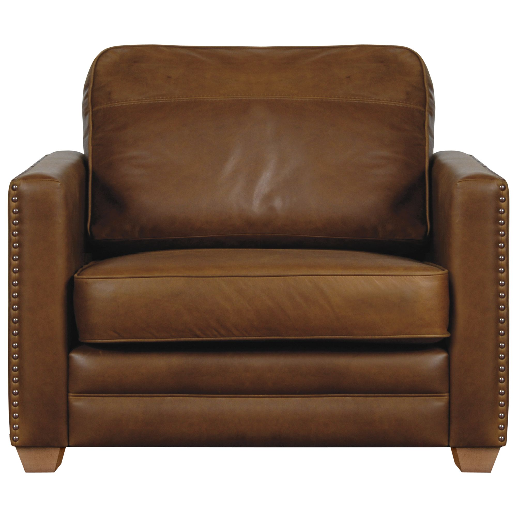 John Lewis Hudson Leather Snuggler