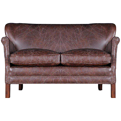 Halo Little Professor Small Sofa, Brown