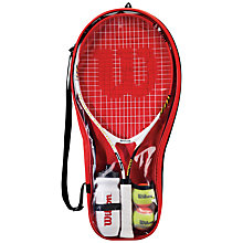 Buy Wilson Roger Federer Tennis Starter Set Online at johnlewis.com