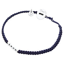 Buy Daisy 5 Rock Friendship Bracelet, Navy Online at johnlewis.com