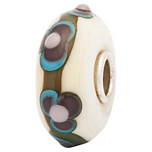 Buy Trollbeads Flower Clouds Bead, Beige Online at johnlewis.com