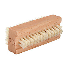 Buy John Lewis Sisal Bristle Double Sided Wood Nail Brush Online at johnlewis.com