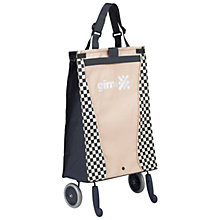 Buy Gimi Bella 2-Wheel Foldable Shopping Trolley, Grey Online at johnlewis.com