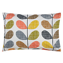 Buy Orla Kiely Scribble Stem Standard Pillowcases, Multi, Set x2 Online at johnlewis.com