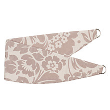 Buy John Lewis Johnston Damask Tiebacks, Natural Online at johnlewis.com