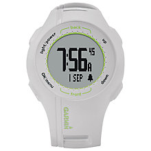 Buy Garmin Approach S1W Golf Watch Online at johnlewis.com