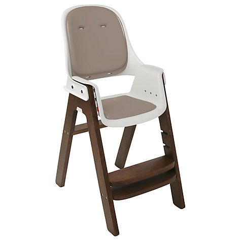 Buy OXO Tot Sprout Highchair, Taupe/Walnut Online at johnlewis.com
