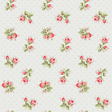 Buy Cath Kidston For Harvey Maria Rose Sprig Vinyl Floor Tiles, 1.115m² Coverage Online at johnlewis.com