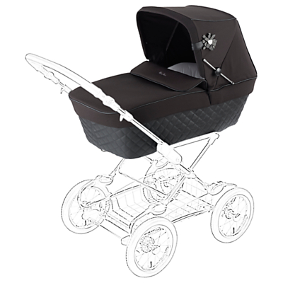 Silver Cross Sleepover Elegance Pram Body, Black