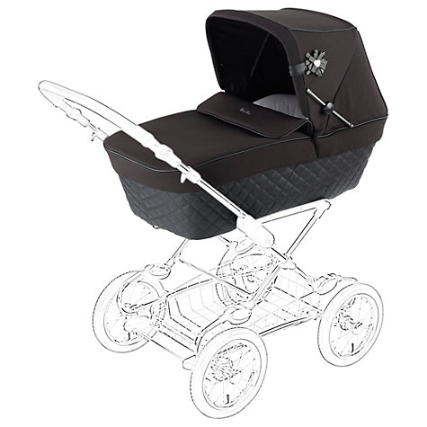 Buy Silver Cross Sleepover Elegance Pram Body, Black Online at johnlewis.com