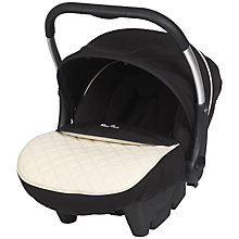 Buy Silver Cross Ventura Plus Infant Carrier, Elegance Black/Cream Online at johnlewis.com