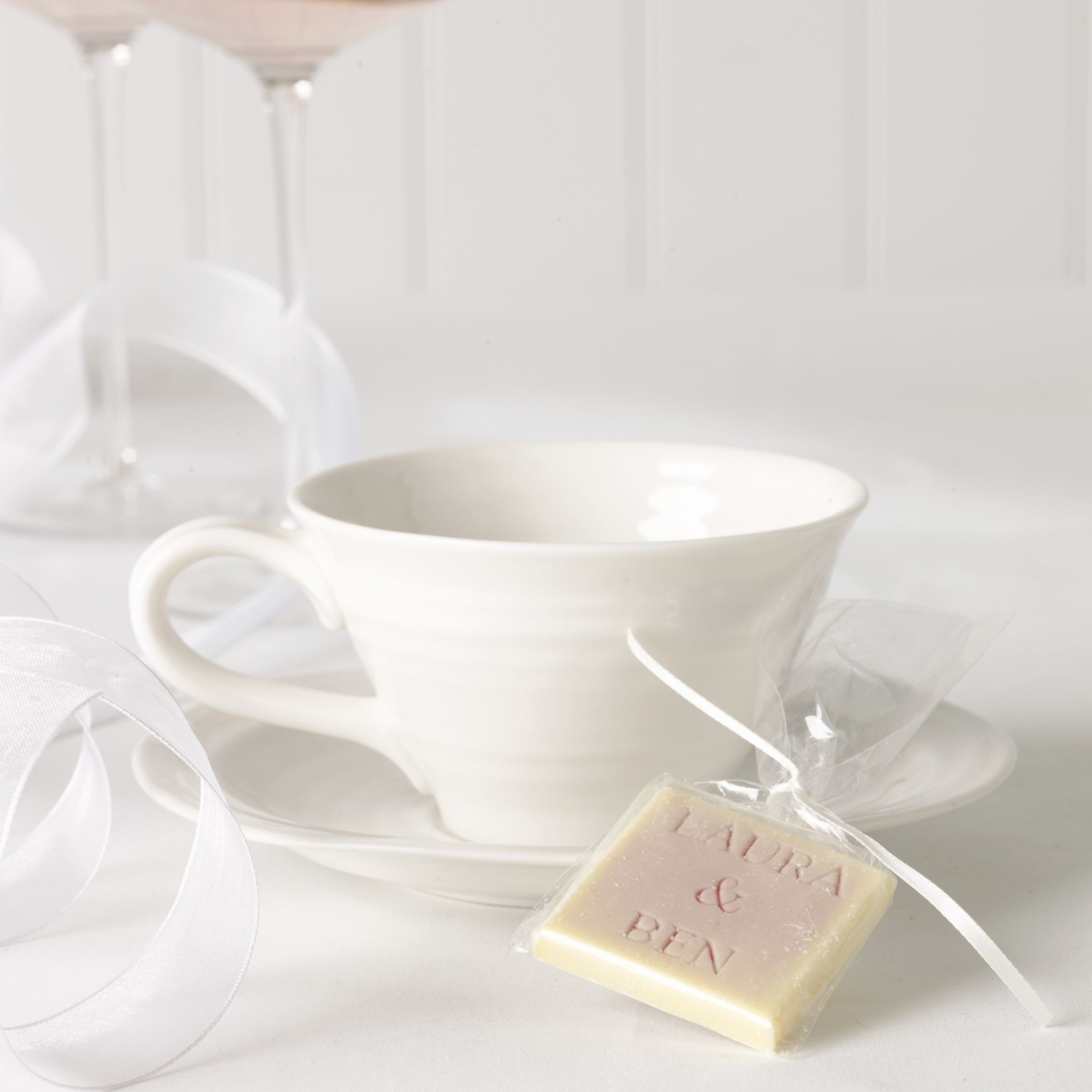 ... on Choc Personalised White Chocolate Favours, Pack of 50 John Lewis