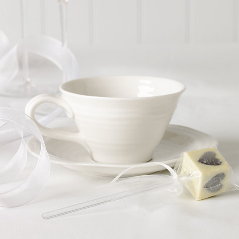 Buy Choc on Choc White Chocolate Party/Wedding Favours, Silver Heart Lolly, x 20, 720g Online at johnlewis.com