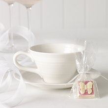 Buy Choc on Choc White Chocolate Party/Wedding Favours, Butterfly, x 50, 650g Online at johnlewis.com