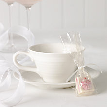 Buy Choc on Choc White Chocolate Party/Wedding Favours, Cupcake, x 50, 650g Online at johnlewis.com