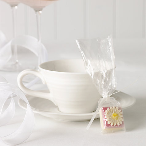 Buy Choc on Choc White Chocolate Party/Wedding Favours, Daisy, x 50, 650g Online at johnlewis.com
