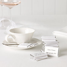 Buy Personalised Nepolitan Foiled Milk Chocolates, Silver, Bag of 50, 500g Online at johnlewis.com