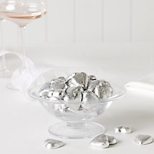 Buy Milk Chocolate Hearts x 100, Silver, 600g Online at johnlewis.com
