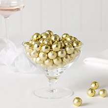 Buy Milk Chocolate Balls x 100, Gold, 500g Online at johnlewis.com