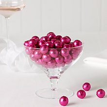 Buy Milk Chocolate Balls x 100, Pink, 500g Online at johnlewis.com