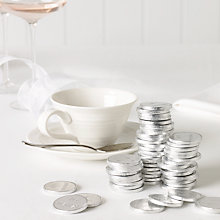 Buy Just Married Milk Chocolate Coins x 100, 540g Online at johnlewis.com