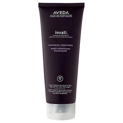 Buy AVEDA Invati™ Thickening Conditioner, 200ml Online at johnlewis.com