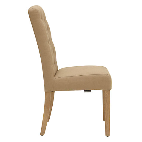 Buy Neptune Sheldrake Dining Chair, Mocha Linen Online at johnlewis.com