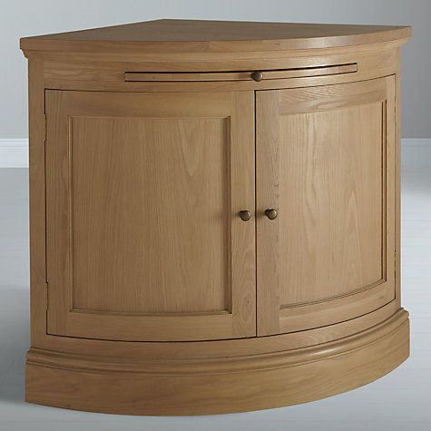 Buy Neptune Henley Curved 2 Door Sideboard, Oak Online at johnlewis.com