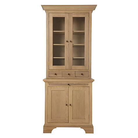 Buy Neptune Henley 3ft Glazed Rack Dresser, Oak Online at johnlewis.com