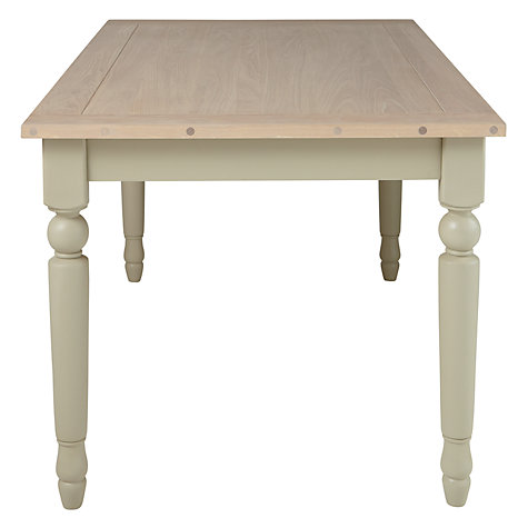 Buy Neptune Suffolk 6-Seater Seasoned Oak Dining Table, Honed Slate Online at johnlewis.com