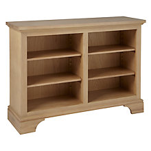 Buy Neptune Henley 4ft Wine Rack / Bookcase, Oak Online at johnlewis.com