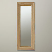 Buy Neptune Henley Oak Mirror, H154 x W56cm Online at johnlewis.com