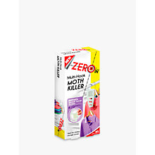 Buy Zeroin Moth Killer Multi Wardrobe Hook Online at johnlewis.com
