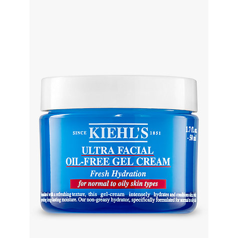 Buy Kiehl's Ultra Facial Oil Free Gel Cream, 50ml Online at johnlewis.com