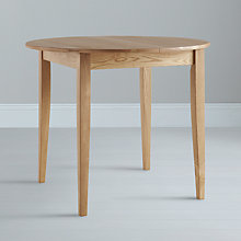 Buy John Lewis Lacock Round 4 Seater Extending Dining Tables Online at johnlewis.com