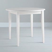 Buy John Lewis Lacock Round 4 Seater Extending Dining Table, Oak Online at johnlewis.com